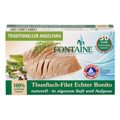 Fontaine - Echter Bonito naturell - 120 g