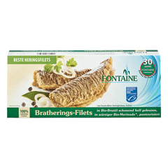 Fontaine - Bratherings-Filets in Bio-Marinade - 325 g