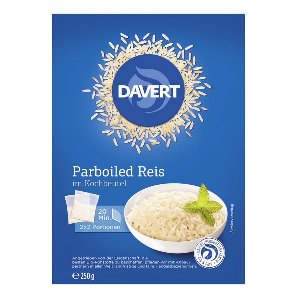 Parboiled Reis Kochen