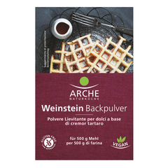 Arche - Weinstein Backpulver 3x18 g
