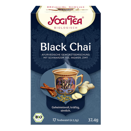 Yogi Tea - Black Chai Bio - 17x2,2 g