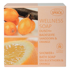 Speick - Wellness Soap BDIH Sanddorn + Orange - 200 g