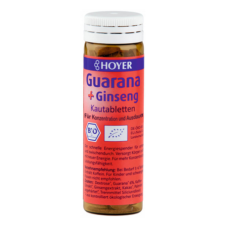 Hoyer - Guarana + Ginseng