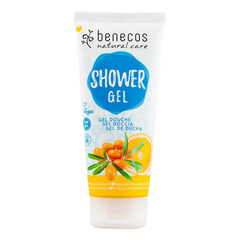 benecos - Natural Shower Gel Sanddorn und Orange - 200 ml