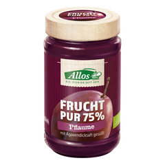 Allos - Frucht Pur 75% Pflaume - 250 g