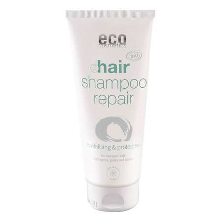 eco cosmetics - Repair-Shampoo mit Myrte Gingko und Jojoba - 200 ml