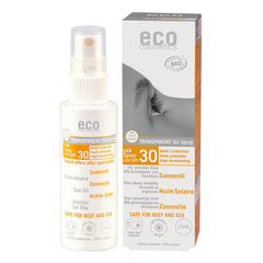 eco cosmetics - Sonnenöl transparent LSF 30 mit...