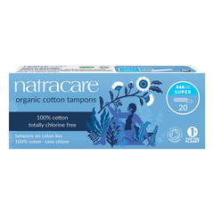 Natracare - Tampons Super - 20 Tampons