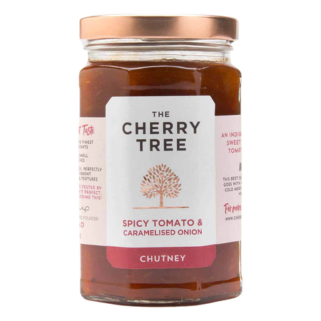 The Cherry Tree - Spicy Tomato & Caramelised Onion Chutney - 320 g