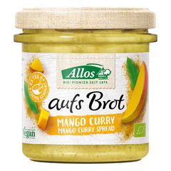 Allos - aufs Brot Mango Curry - 140 g