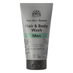 Urtekram - Men Aloe Vera Baobob Hair und Body wash...
