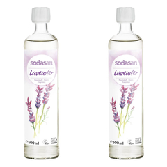 Sodasan - Raumduft senses LAVENDER - 500 ml - 2er Pack