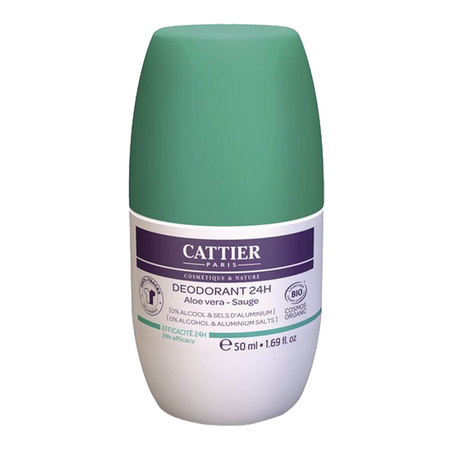 Cattier - Deodorant 24h Roll-on - 50 ml