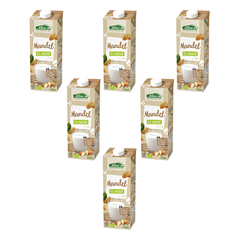 Allos - Mandel Drink naturell 0 % Zucker - 1 l - 6er Pack