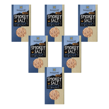 Sonnentor - Smokey Salt Packung - 150 g - 6er Pack