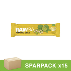 Simply Raw - RAW BA Pistachio und Lime - 40 g - 15er Pack