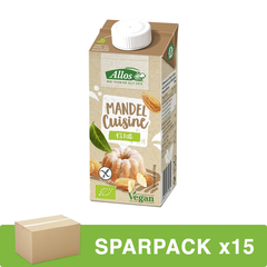 Allos - Mandel Cuisine - 200 ml - 15er Pack