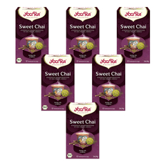 Yogi Tea - Sweet Chai Bio - 17x2,0 g - 6er Pack
