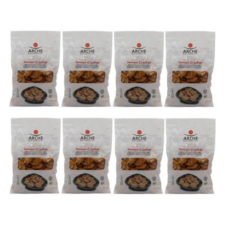 Arche - Tamari Cracker - 80 g - 8er Pack