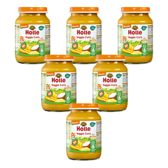 Holle - Gläschen Veggie Curry - 190 g - 6er Pack