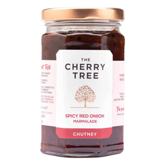 The Cherry Tree - Spicy Red Onion Marmalade Chutney - 320 g