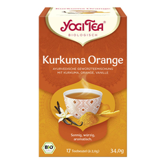 Yogi Tea - Kurkuma Orange Bio - 34 g