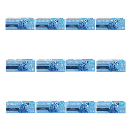 Natracare - Tampons Super - 20 Tampons - 12er Pack