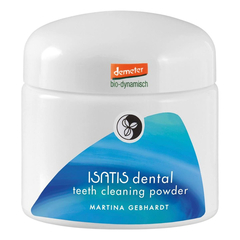 Martina Gebhardt - ISATIS dental teeth cleaning powder -...