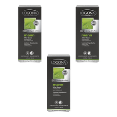 Logona - mann After Shave - 100 ml - 3er Pack